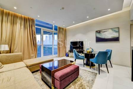1 Bedroom Apartment for Rent in Downtown Dubai, Dubai - Furnished 1BR Upper Crest |Community View