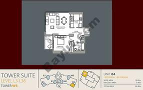 Unit 4 1 Bedroom Level (3-36)