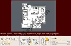 Unit 5 1 Bedroom Level (3-22)