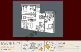 Unit 3 2 Bedroom Level (3-36)