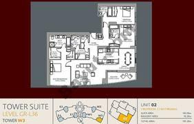 Unit 2 3 Bedroom Level 36