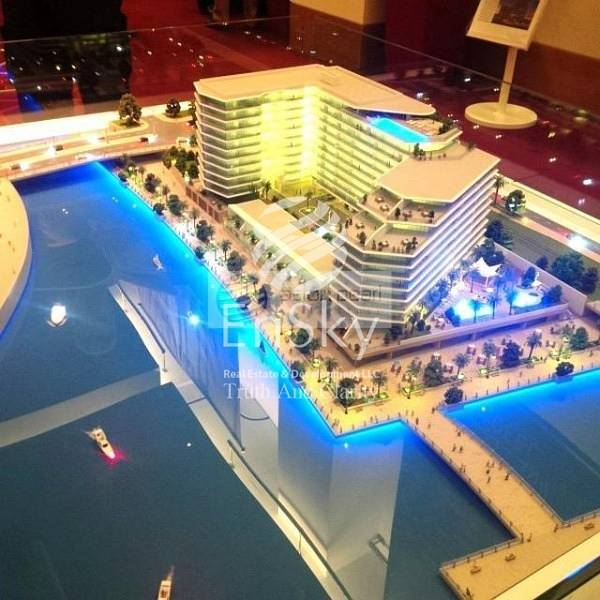 2 1 BR with Partial Canal and Sea View for Investment