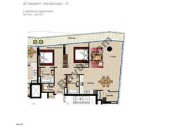 2 BR APT, 5th Floor, Plot 512, Type 1M