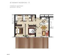 2 BR APT, Ground Floor, Plot 003, Type 2c