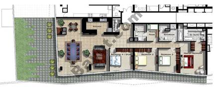 4 Bedroom Apartment