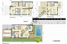 Floorplan_Ground and 1st Floor_Type D