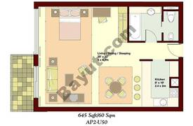 Studio Apartment 2