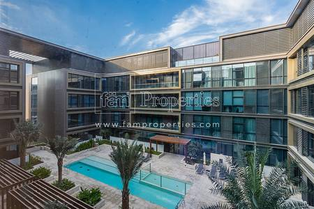 1 Bedroom Flat for Rent in Jumeirah, Dubai - Well Located  1 Bedroom  with  Pool View