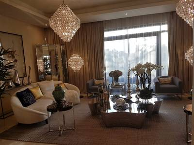 3 Bedroom Villa for Sale in DAMAC Hills (Akoya by DAMAC), Dubai - Do you like the luxury and excellence  ،Villa for sale ، overlooking the golf course