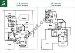 5 Bedroom Villa Type A1