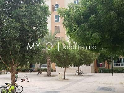 فلیٹ 1 غرفة نوم للبيع في ديسكفري جاردنز، دبي - Vacant one bed for sale in street four.