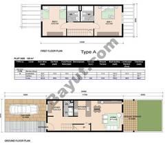 Floorplan_Ground and 1st Floor_Type A