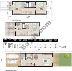 Floorplan_Ground and 1st Floor_Type B