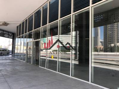 Shop for Rent in Business Bay, Dubai - Large Size   Road Facing   Shell & Core