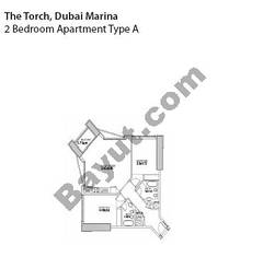 2 Bedrooms Apartment Type A