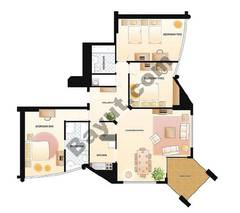 3 Bedrooms Apartment 1