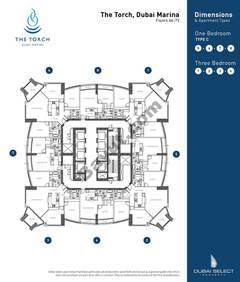 Floorplan 66th to 73rd
