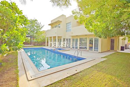 5 Bedroom Townhouse for Sale in Arabian Ranches, Dubai - Immaculate Saheel Type 4 | Vacant | Pool