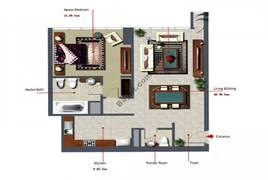 1 Bedroom-903-Type-B1