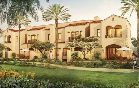 3 Bedroom Villa for Sale in Serena, Dubai - For sale without a commission without registration fees, at fancy prices, and is an investment