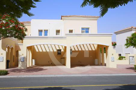 2 Bedroom Villa for Sale in Arabian Ranches, Dubai - 2 Bedroom corner villa + study for SALE
