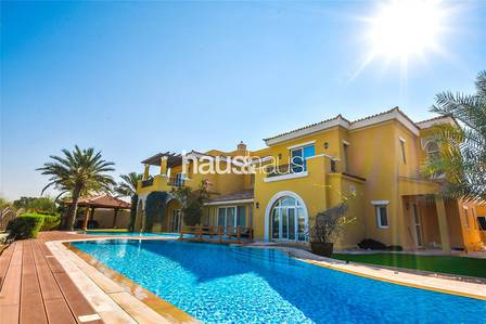 4 Bedroom Villa for Rent in Arabian Ranches, Dubai - Type 21   Stunning   On the golf course!