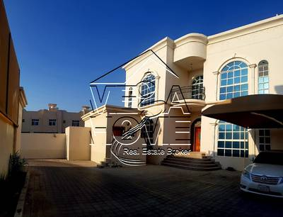 6 Bedroom Villa for Rent in Khalifa City A, Abu Dhabi - 6 MBR W/DRIVER ROOM AND PRIVATE ENTRANCE