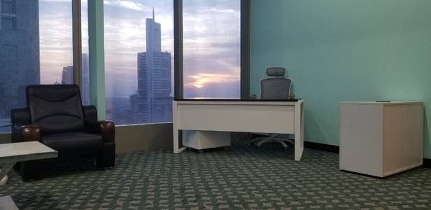 Office for Rent in Business Bay, Dubai - Fully Furnished & Serviced Office Space Just in 6999/=AED Only With One Year Contract ( Ejaari) & All Inspections