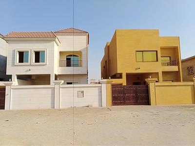 6 Bedroom Villa for Sale in Al Rawda, Ajman - Villa for sale 6 bedrooms faced with super finishing stone