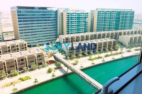 1 Bedroom Apartment for Sale in Al Raha Beach, Abu Dhabi - best price 1bed w rent refund canal view