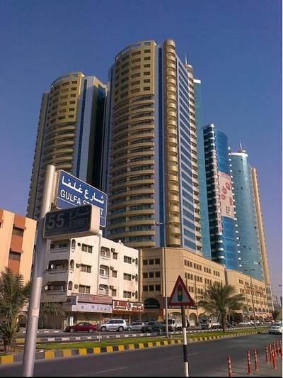 Office for Rent in Ajman Downtown, Ajman - Office Space for Rent in Horizon towers in Ajman
