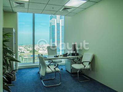 Office for Rent in Business Bay, Dubai - GREAT FIND! OPEN PLAN OFFICE WITH STUNNING VIEWS OF CANAL VIEW!