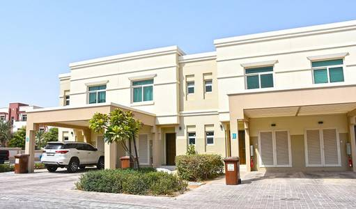 3 Bedroom Townhouse for Rent in Al Ghadeer, Abu Dhabi - Single Row / Garden View / 4 Cheques!