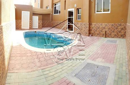 4 Bedroom Villa for Rent in Khalifa City A, Abu Dhabi - PRIVATE POOL!! 4 MASTER Bed Villa