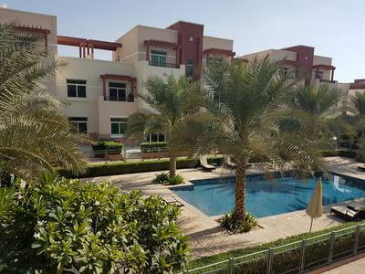 2 Bedroom Flat for Rent in Al Ghadeer, Abu Dhabi - Two Bed Terrace / 55 k / 4 Cheques!!!!