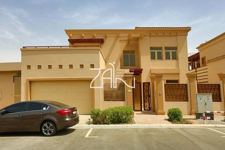 5 Bedroom Villa for Sale in Al Raha Golf Gardens, Abu Dhabi - Corner 5 BR with Pool in Great Location