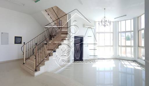 5 Bedroom Villa for Rent in Khalifa City A, Abu Dhabi - Private entrance 5 Master Bed /Driver room outside