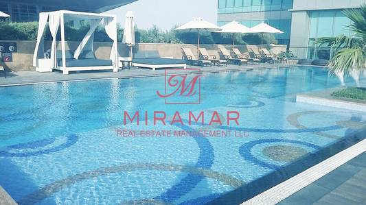 1 Bedroom Flat for Rent in Corniche Area, Abu Dhabi - No Commission Beach Front Full Sea view Luxury Facilities