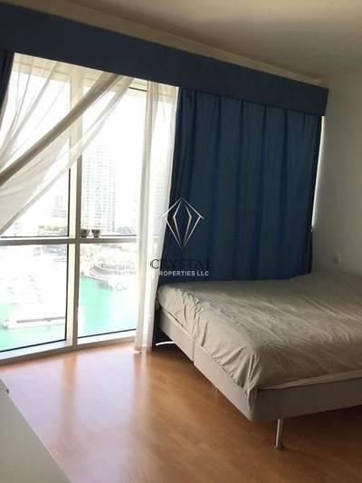 1 Bedroom Apartment for Rent in Dubai Marina, Dubai - Nice Furnished 1 B/R  in Marina Terrace.