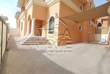 6 Bedroom Villa for Rent in Khalifa City A, Abu Dhabi - Euro Style 6 Master Bed with Elevator and Private Entrance