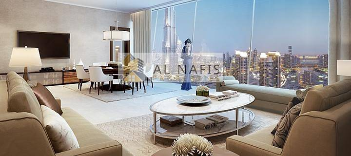 10 3 Bedroom with Amazing Burj Views for Rent
