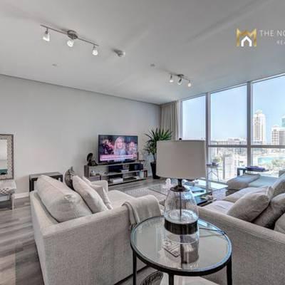 2 Bedroom Flat for Rent in Dubai Marina, Dubai - Aed 145000 -beautiful Upgraded 2 Bedroom Apartment