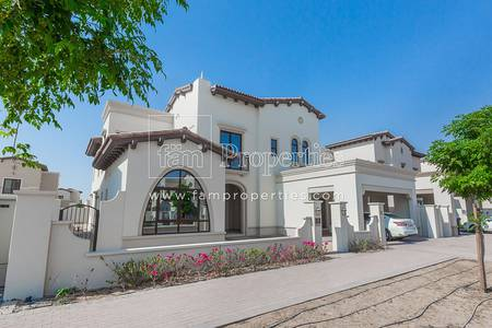 4 Bedroom Villa for Rent in Arabian Ranches 2, Dubai - Huge Plot| Single Row| Brand New Type 2!