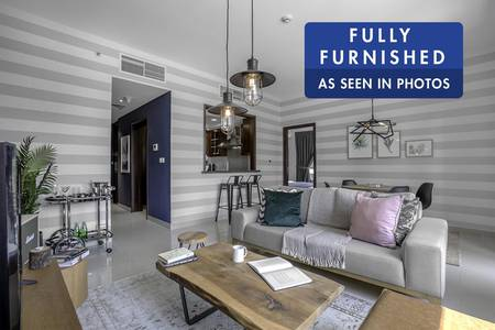 1 Bedroom Apartment for Rent in Downtown Dubai, Dubai - Modern Furnished Apartment   City View
