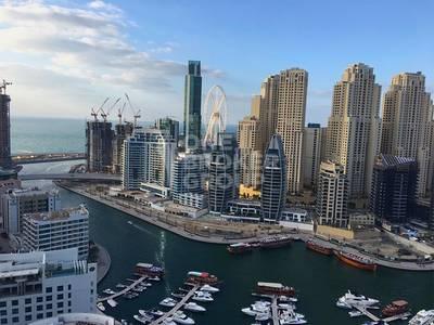 3 Bedroom Flat for Rent in Dubai Marina, Dubai - Mesmerizing full Marina