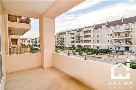 1 Bedroom Flat for Rent in Motor City, Dubai - BRIGHT AND SPACIOUS CORNER APARTMENT