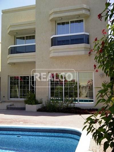 5 Bedroom Villa for Rent in Al Manara, Dubai - Pvt pool 5 br+m villa