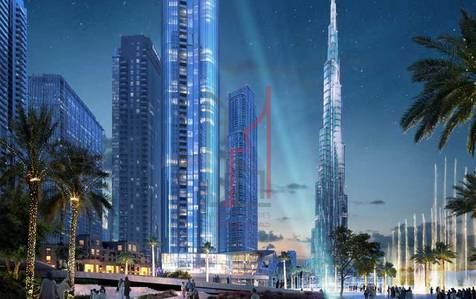 1 Bedroom Apartment for Sale in Downtown Dubai, Dubai - Unobstructed View of Burj Khalifa from your balcony