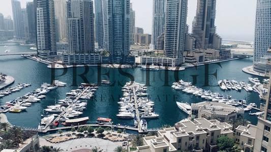 3 Bedroom Apartment for Rent in Dubai Marina, Dubai - Emerald Residence Dubai Marina View