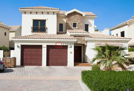 4 Bedroom Villa for Sale in Jumeirah Golf Estate, Dubai - 4BR+M Almeria Type C Lime Tree Valley JGE